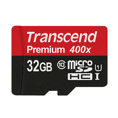 TF Card 32GB Class 10 Micro SD Card Flash Memory Card SDHC UHS-I Free Adapter