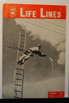 1952 California Water & Telephone Company Life Lines Magazine-Cathedral City #
