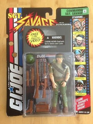 Gi Joe Commando Sgt.Savage. G.I.Joe, Action Force