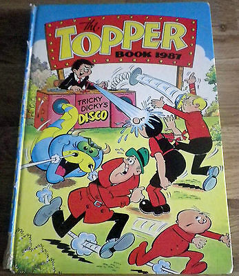 The Topper Book 1987. (Annual) D.C Thomson.