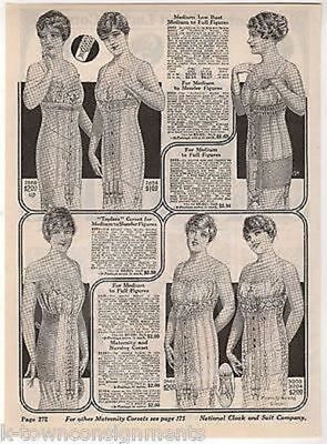 Ladies Underwear Corsets Womens Fashions Antique Graphic Advertising Print