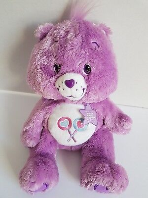 Care Bear Share Bear 2005 Grape Scented TCFC Brand Carebear