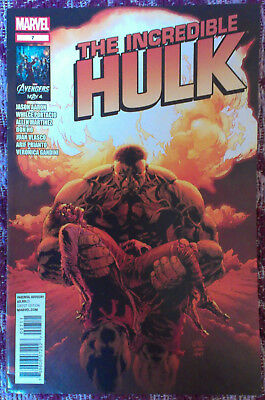INCREDIBLE HULK (2011/Vol 3) #7 by Jason Aaron & Whilce Portacio - MARVEL COMICS