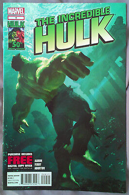 INCREDIBLE HULK (2011/Vol 3) #9 by Jason Aaron & Pasqual Ferry - MARVEL COMICS