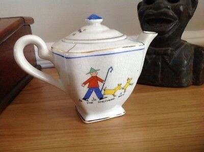Small Antique Vintage Teapot Art Deco