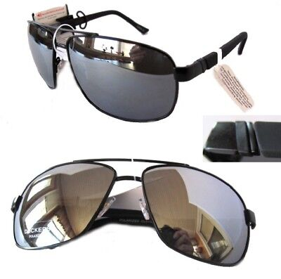 f9aedc9bc76 NWT Dockers 19611LDP009 BEA Mens Sunglasses Black Mirror Polarized- tiny  defect