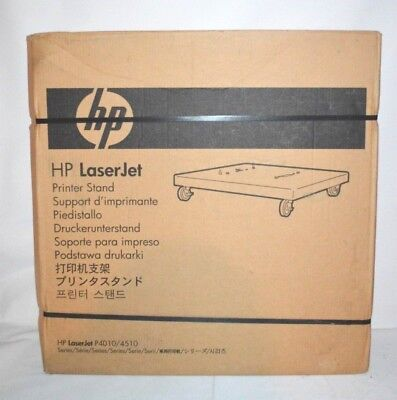 NEW CB525A HP Printer Stand with Wheels  P4010/P4510/600 Genuine Sealed