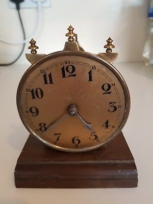 Brass Clock Old Vintage Antique Steampunk Project