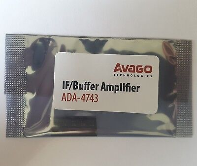 5pcs. Avago ADA-4743 Darlington Silicon BIPOLAR SOT-343