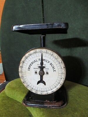 Antique Imperial Family Kitchen Scale Jewel tea Co. Pat Oct 25, 1898