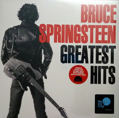 Bruce Springsteen - Greatest Hits (Red Vinyl 2Lp) (Rsd 2018) Free Shipping
