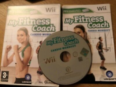 lace up in later buy NINTENDO WII GAME - My Fitness Coach Cardio Workout - Boxed ...