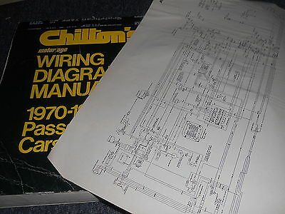 1970 - 1975 Ford Torino Gran Torino Ranchero Elite Wiring Diagrams Sheets Set
