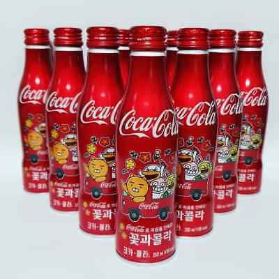2018 New Limited Korean Coca Cola Kakao Friends Aluminium Bottle Fulled tracking