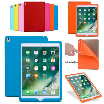 Multi-color Silicone Portable Back Skin Protective Case For iPad Various Tablets