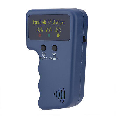1 PCS 125KHz Portable Handheld RFID ID Card Copier Reader / Writer Duplicator TP