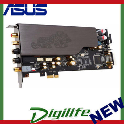 ASUS Essence STX IIChannel PCI Express Sound Card HighDefinition Sound Processor