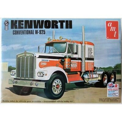 AMT 1/25 Kenworth Conventional W-925 Tractor Kit (New)
