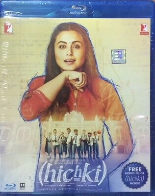 Hichki Blu-Ray - Rani Mukerji - 2018 Bollywood Movie Bluray + Cd Special Edition