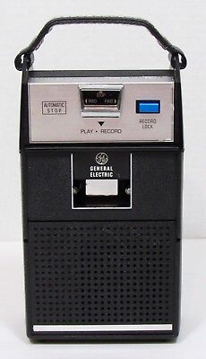 Vintage General Electric Solid State Cassette Recorder Tape Player M8430A