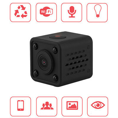Mini Spy IP Camera Wireless Wifi HD 1080P DV DVR Security Camcorder Night Vision