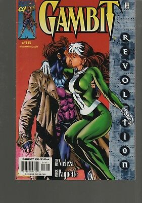 Gambit  Vol 3  16     Xmen Series   Marvel Comics