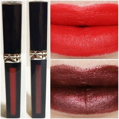 Christian Dior Rouge Dior Liquid Lip Stain PICK SHADE Poison Metal or Matte 6ml
