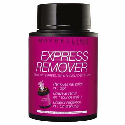 2 x Maybelline Express Remover Nail Polish Remover 75mL