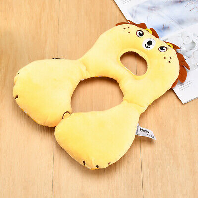 Baby U Shap Head Neck Support Pillow Headrest Travel Car Seat Cushion Protector