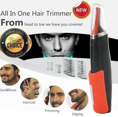 MicroTrim® - Portable All-In-One Hair Trimmer! Dual End Micro Trimmer - Full Kit