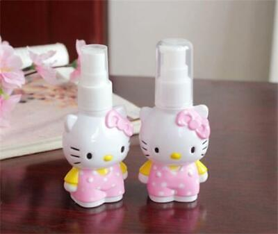 1PC Cute 3D Hello Kitty Cosmetic Press Spray Bottle Beauty Makeup Bottles