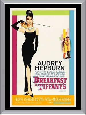 Breakfast At Tiffany's A1 To A4 Size Poster Prints