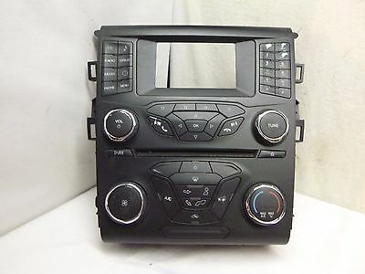 13 2013 Ford Fusion Radio Control Panel DS7T-18E243-ER PBR894