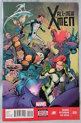 ALL-NEW X-MEN (Vol 1) #19 by Brian Bendis & Brandon Peterson - MARVEL NOW!