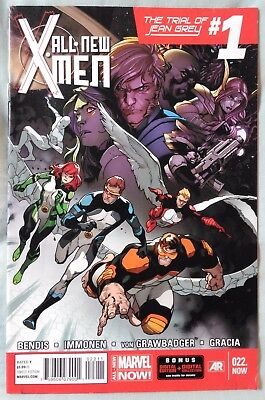 ALL-NEW X-MEN (Vol 1) #22 by Bendis & Immonen - MARVEL/GUARDIANS OF THE GALAXY