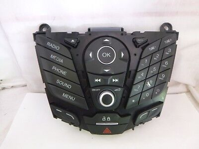 2014 2015 Ford Fiesta Radio Cd Player Control Panel Face Plate D2BT-18K811-PA