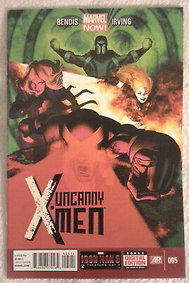 UNCANNY X-MEN (Vol 3) #5 by Brian Bendis and Frazer Irving - MARVEL NOW!