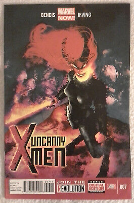 UNCANNY X-MEN (Vol 3) #7 by Brian Bendis and Frazer Irving - MARVEL NOW!