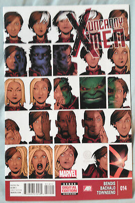 UNCANNY X-MEN (Vol 3) #14 by Brian Bendis and Chris Bachalo - MARVEL COMICS