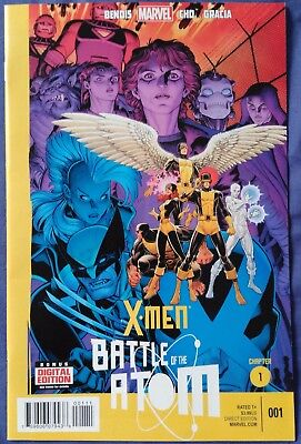 X-MEN: BATTLE OF THE ATOM #1 (of 2) by Brian Bendis & Frank Cho - MARVEL
