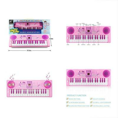 GrownUp Toys Sanmersen Kids Piano Keyboard 37 Multi-function Portable Electronic