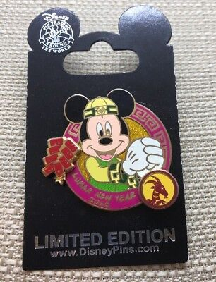 Disney Mickey Mouse Lunar New Year 2015 Pin LE 3000
