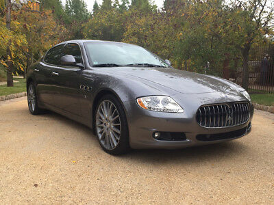 2010 Maserati Quattroporte  low mile clean carfax free shipping warranty s loaded finance luxury exotic