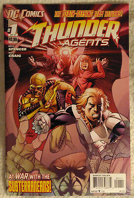THUNDER AGENTS (2011) #1 (of 6) by Nick Spencer & Wes Craig - DC COMICS