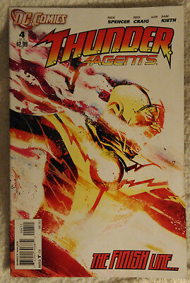 THUNDER AGENTS (2011) #4 (of 6) by Nick Spencer, Wes Craig, & Sam Keith - DC