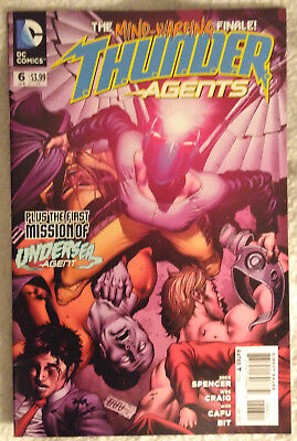 THUNDER AGENTS (2011) #6 (of 6) by Nick Spencer, Wes Craig, & Cafu - DC COMICS
