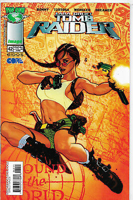 Tomb Raider The Series #42 Top Cow Comics Adam Hughes Cover NM