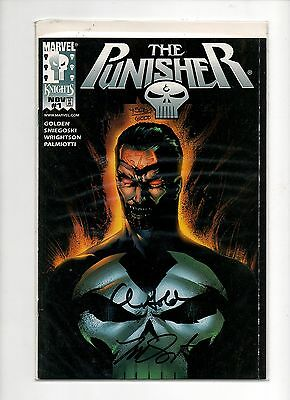 The Punisher #1 (Vol.2) Dynamic Forces Signed Variant with COA Marvel Comics