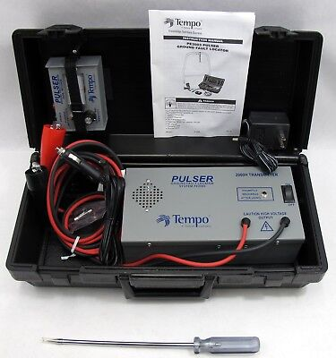 Tempo PE2003 Pulse Ground Fault Locator Pulser Burried Cable Tester EXCELLENT