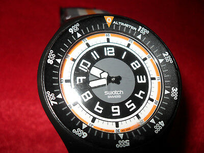 Swatch Snowpass mit Altimeter
